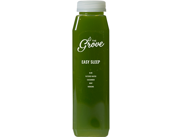 Easy Sleep (Aloe, Cucumber, Ginger, Mint, Romaine, Filtered Water)