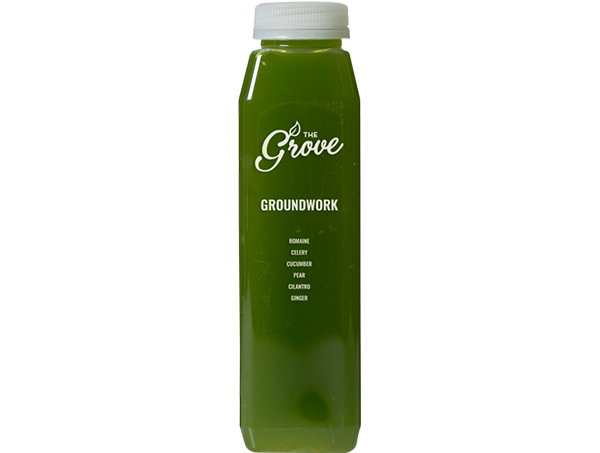 Groundwork (Romaine, Celery, Cucumber, Ginger, Pear, Cilantro)