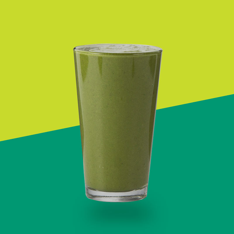 <h3>Green Delight</h3>Spinach, Strawberry, Cucumber, Banana, Flaxseed, Moringa, Coconut Milk