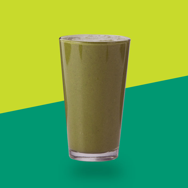 <h3>PB + Superfood</h3>Maca, Organic Peanut Butter, Spinach, Swiss Chard, Banana, Lucuma, Coconut Milk