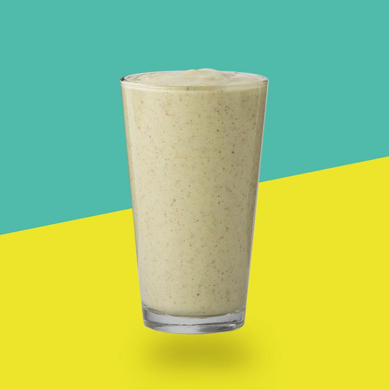 Spicy Ashwagandha (Ashwagandha, Chai, Cayenne Pepper, Nutmeg, Cinnamon, Cardamom, Pink Salt, Banana, Almond Milk, Coconut Milk)