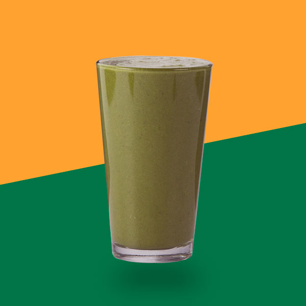 <h3>Green Ginger</h3>Spinach, Kale, Lime, Cucumber, Spirulina, Ginger, Apple