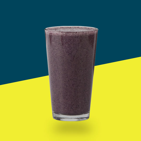 <h3>Lemon Blueberry Detox</h3>Blueberries, Lemon, Ginger, Turmeric, Avocado, Banana, Filtered Water